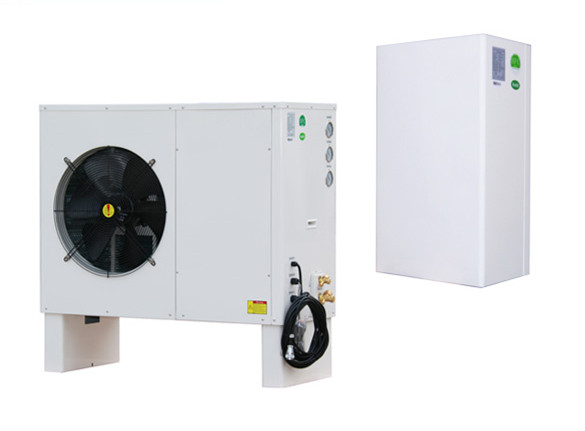 Split air to water EVI heat pump SDAW-075BEVI