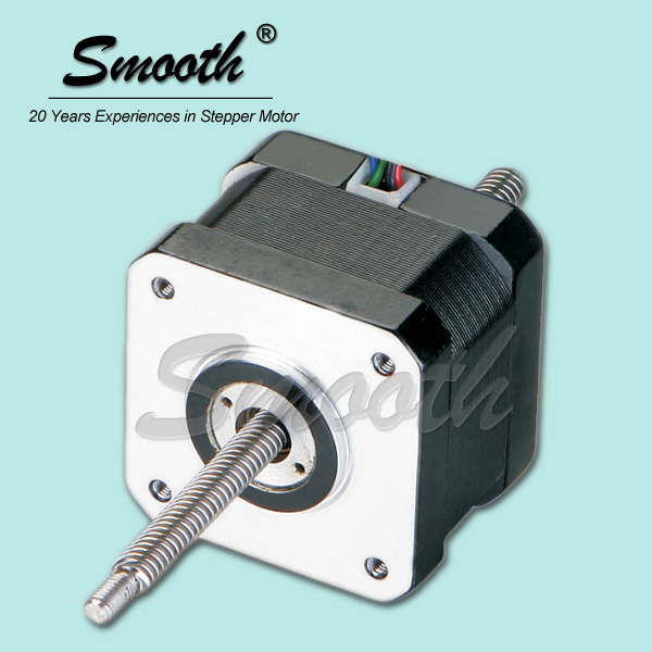 Non captive linear cheapest nema 17 stepper motor with for Nema 17 stepper motors with rotary encoders