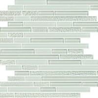 Super white crystal glass mosaic tile KSL—1304