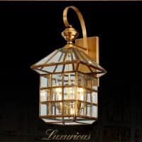 Vintage Golden Lamp