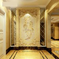 carving antique porcelain wall tile BJQ002
