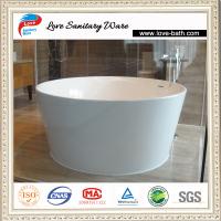 Freestanding Resin Stone Bathtub Lv-8226