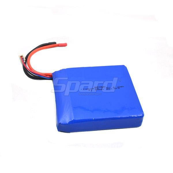 lithium polymer battery pack 3.7V 4.2Ah YT807070