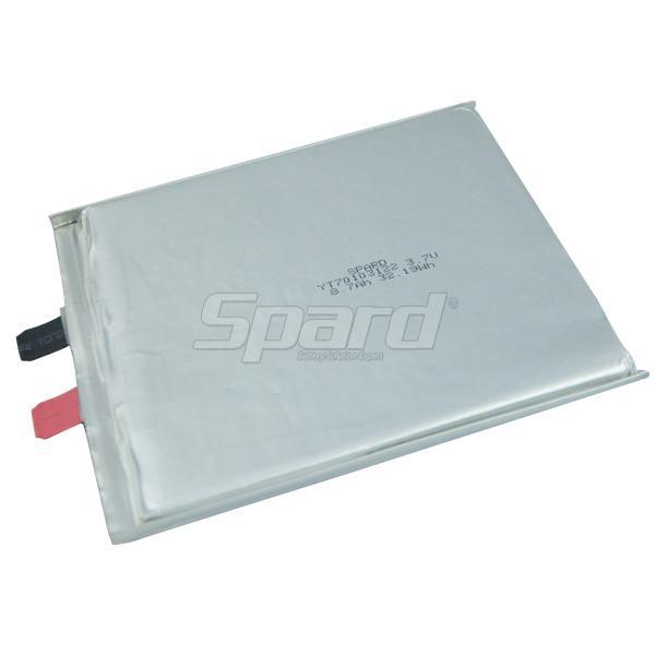 Lithium Polymer Battery 3.7V 8.7Ah YT70103122