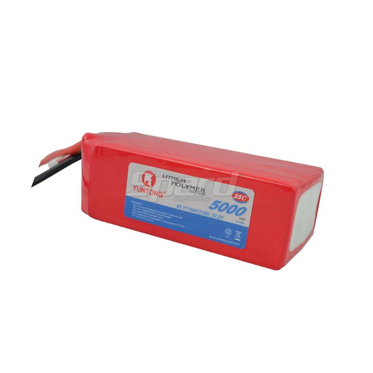 RC airplane F3C battery  pack 6S 22.2V 5000mAh 25C YT1044121EH