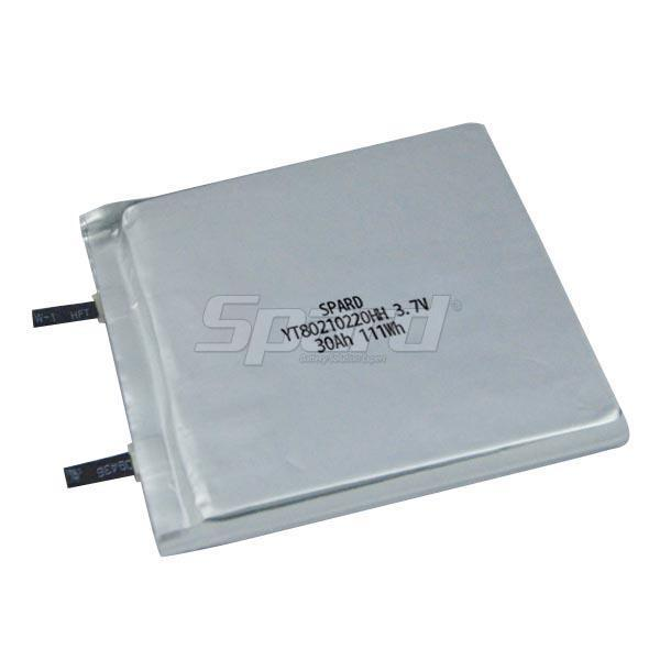 lithium polymer battery pack YT80210220HH