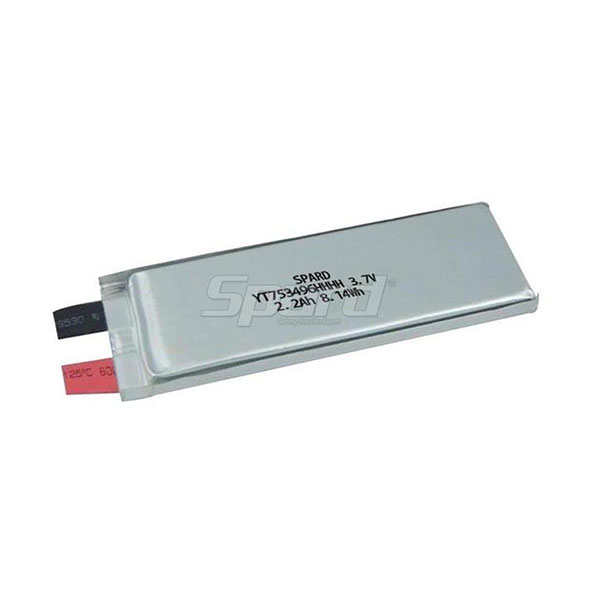 lithium polymer battery pack YT753496HHHH