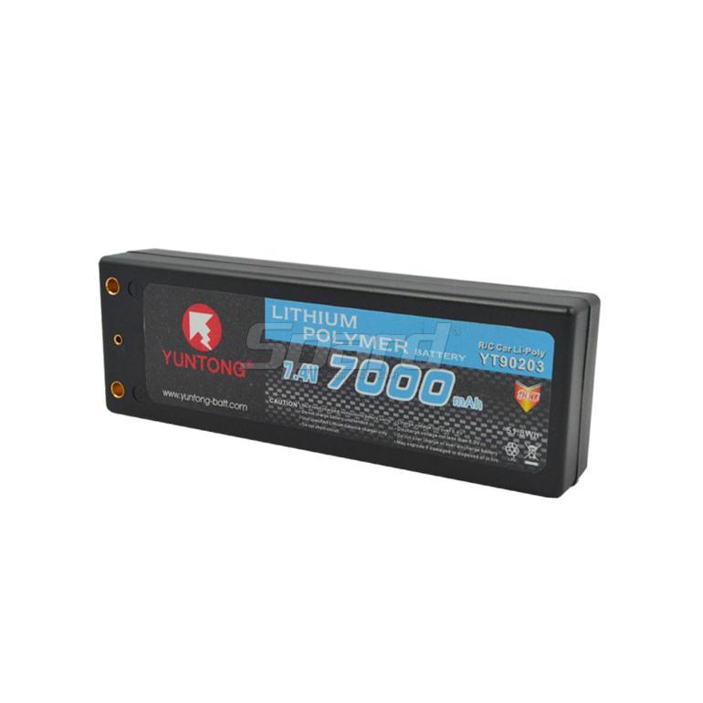 RC car lithium polymer 7.4V 7000mAh YT90203