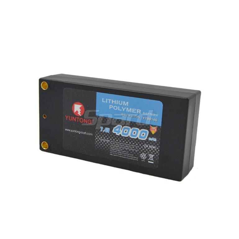 RCリチウムポリマーバッテリー7.4V 4000mAh 60C YT90146
