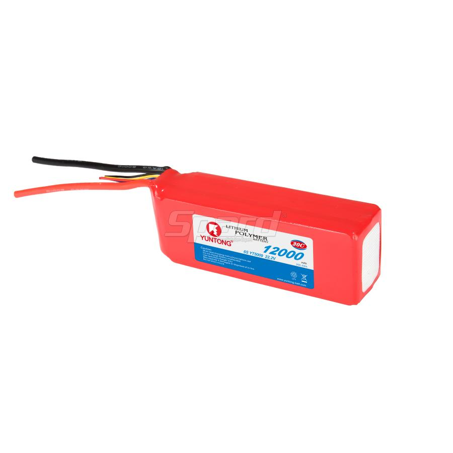 Aerial photograph drone li polymer RC battery pack 22.2V 12000mAh 30C YT5009