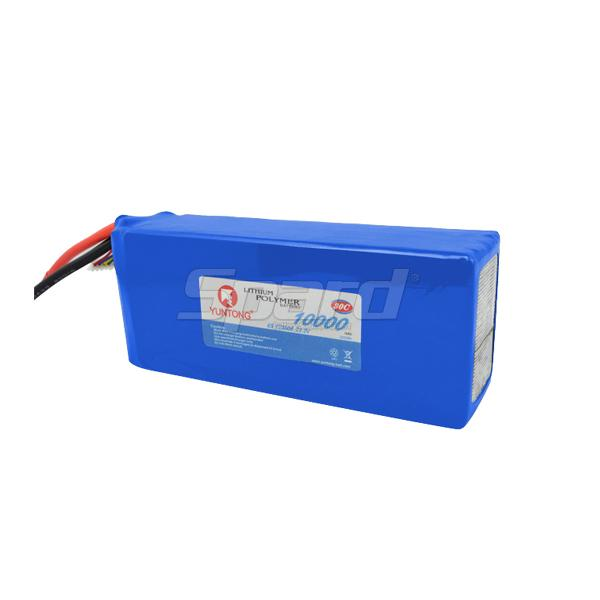 Aerial photograph drone lithium polymer battery 22.2V, 10000mAh YT5008