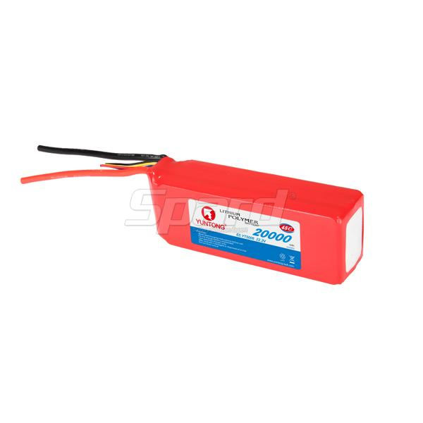RC Aerial photograph drone lithium polymer battery pack 22.2V 20000mAh 45C YT5006, 22.2V 20000mAh