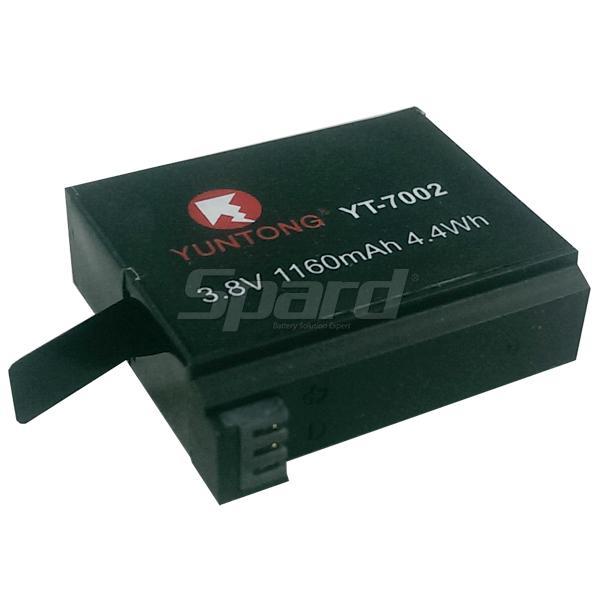 カメラの電池空中phtographバッテリー充電式バッテリーYT7002の3.8Vの1160mAh