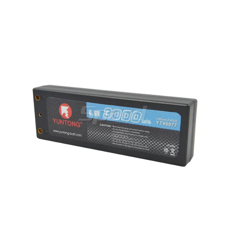 RC car LiFePO4 lithium batteries 6.6V 3000mAh 30C YT90077