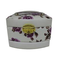 C-0001 latest high quality fashional print flower make up cosmetic cases