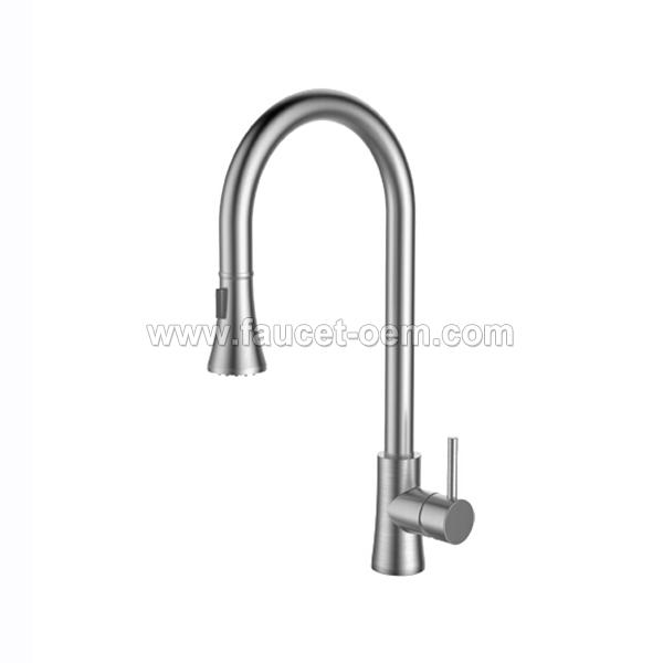 CT-02-004 Pull-down kitchen faucet