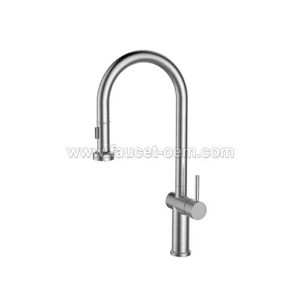 CT-02-005 Pull-down kitchen faucet