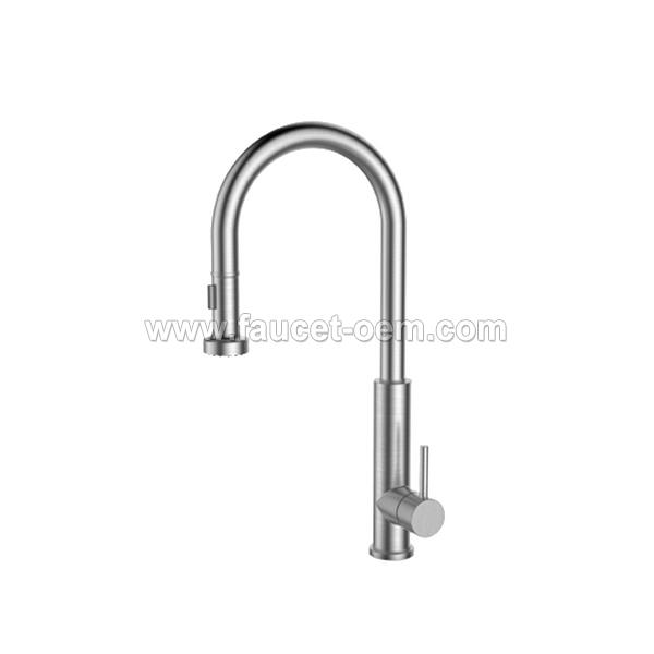 CT-02-006 Pull-down kitchen faucet