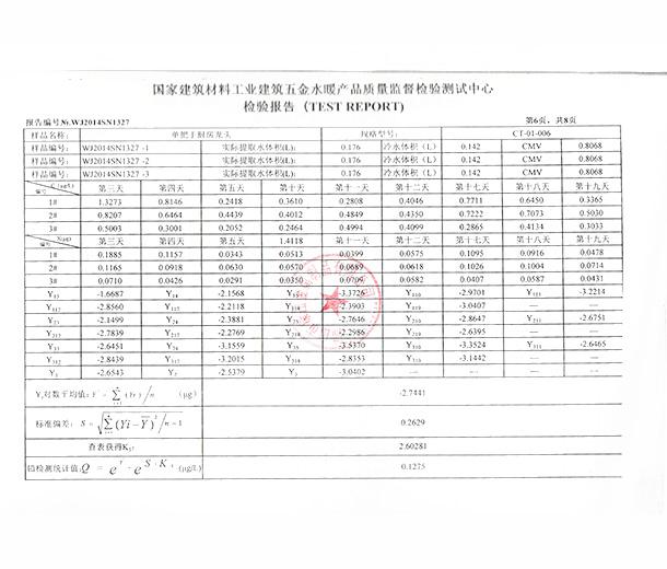 Test Report 006