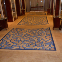 MNK Comfortable Corridor Axminster Carpet for Hotel