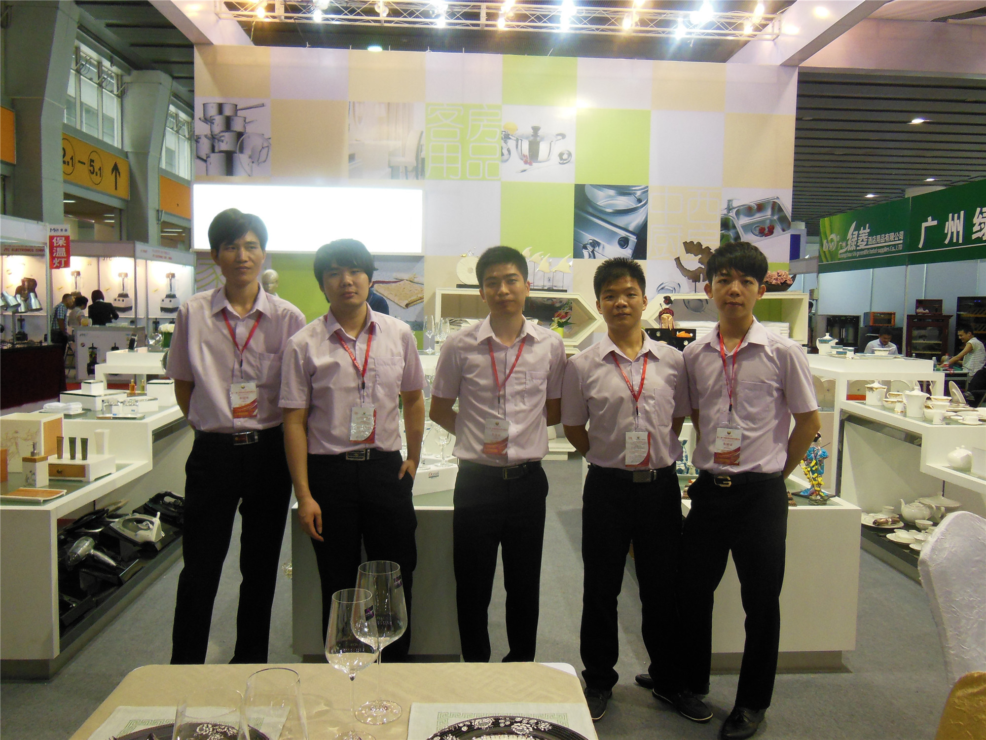 Tontile exhibition-Work team