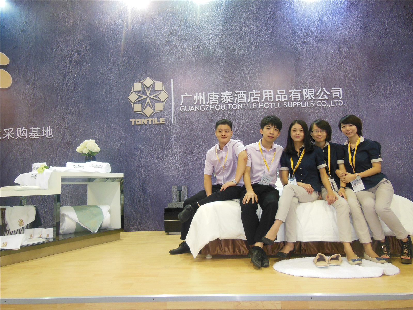 Guangzhou pazhou exhibition-Tontile Team 1