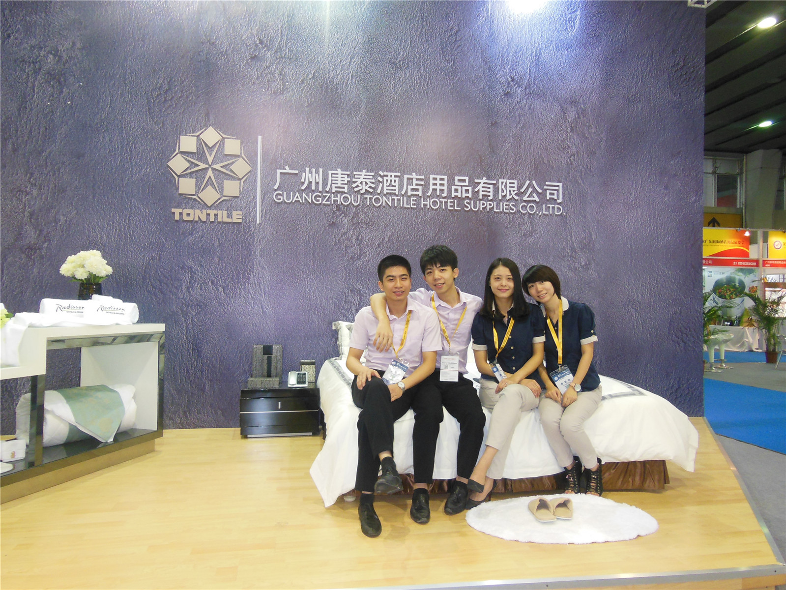 Guangzhou pazhou exhibition-Tontile Team 2