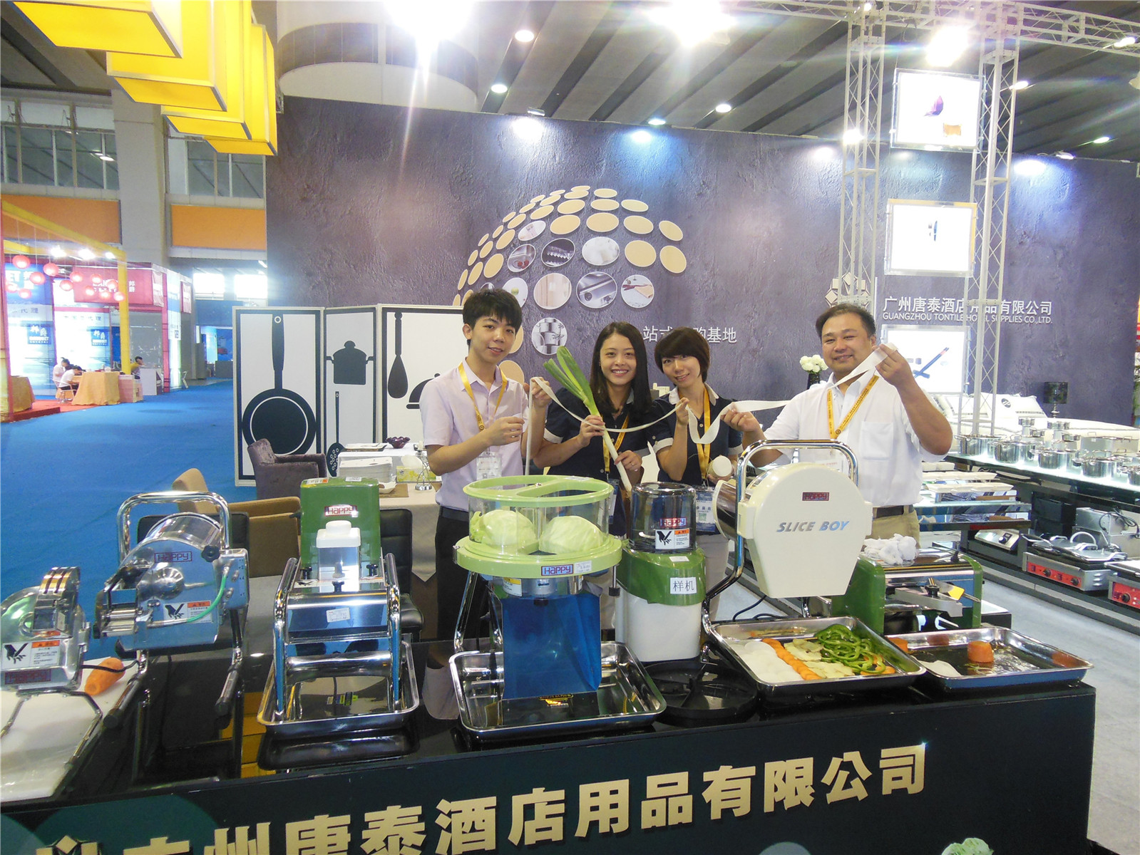 Guangzhou pazhou exhibition-Tontile Team 3