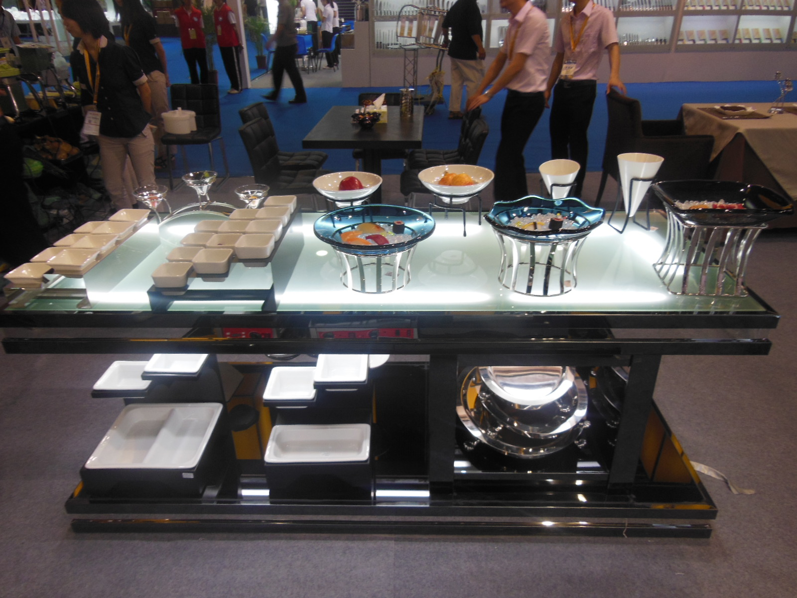 Guangzhou pazhou exhibition-Tontile Buffet products 2