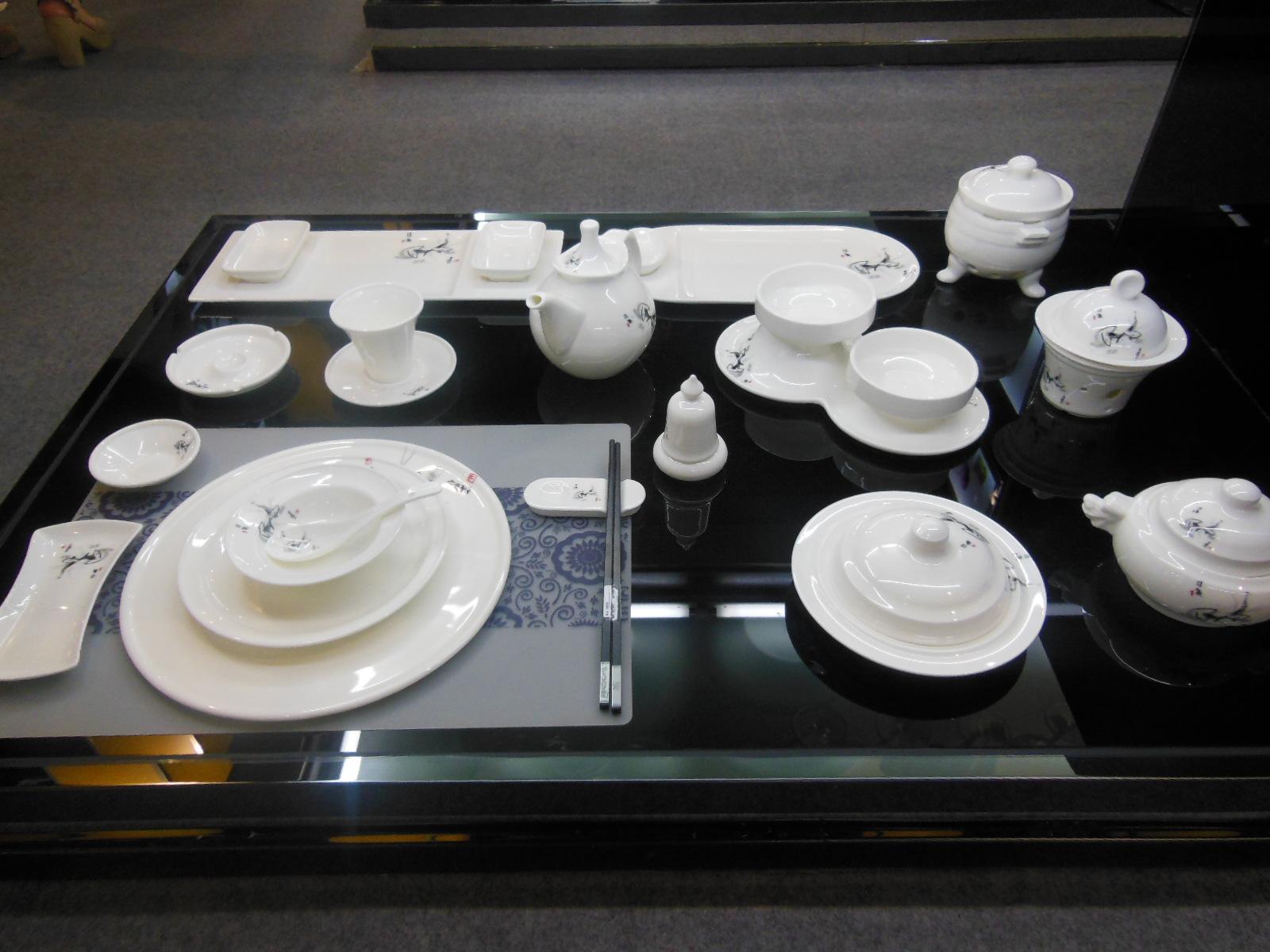 Guangzhou pazhou exhibition-Tontile Ceramic plate 1
