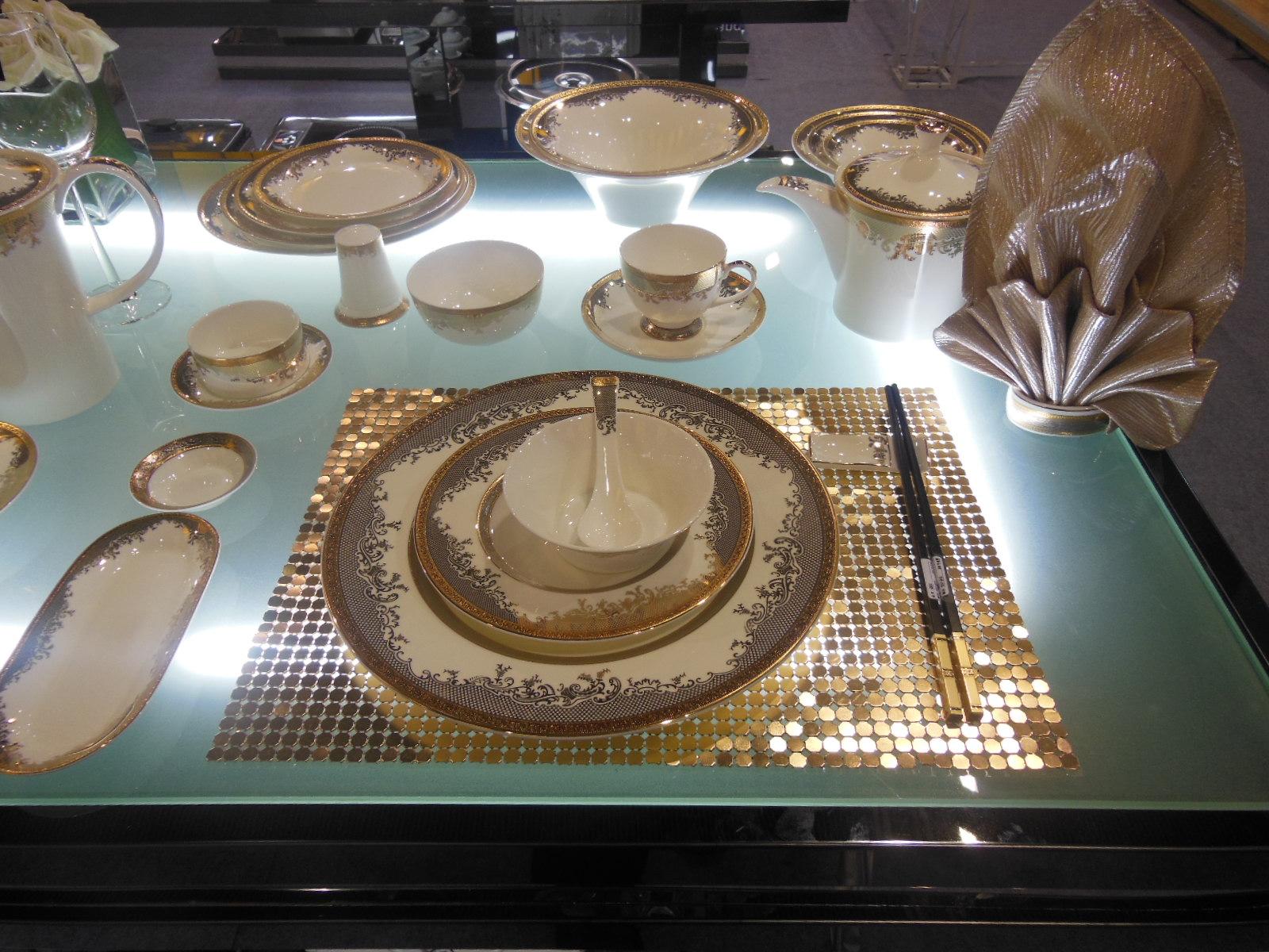 Guangzhou pazhou exhibition-Tontile Ceramic plate 2