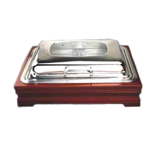 BAVA Wooden Frame Chafing Dish
