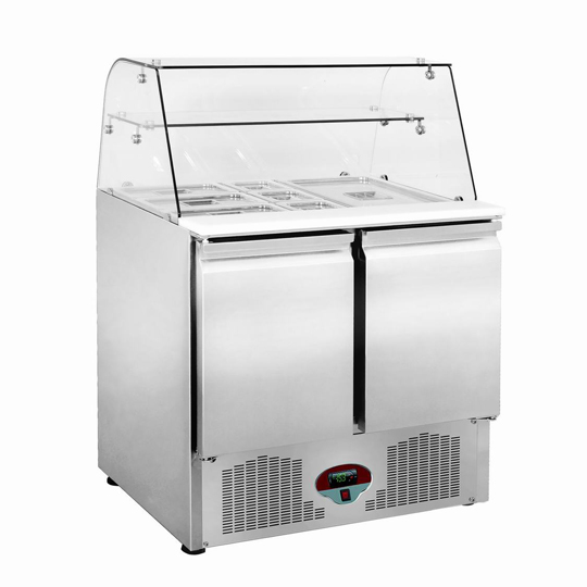 Ventilated Refrigerated Under Counter