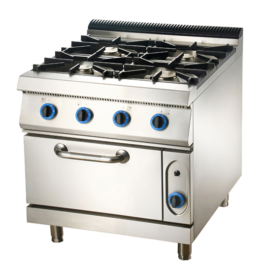 Electric Or Gas Kitchen Stove Equipments