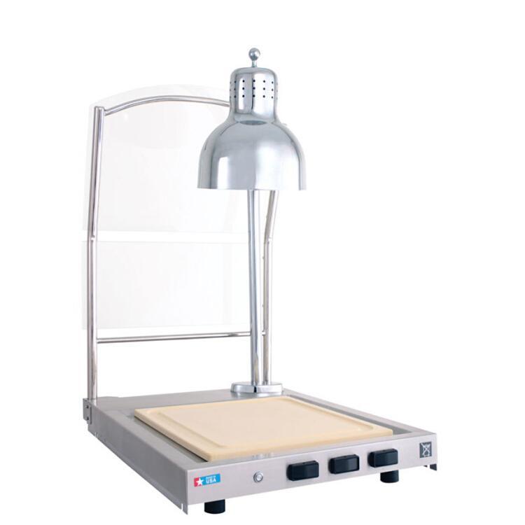 CS-100 SINGLE LAMP HOT CARVING SHELF