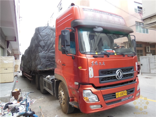 Tontile 17.5m heavy truck to Guizhou Province china