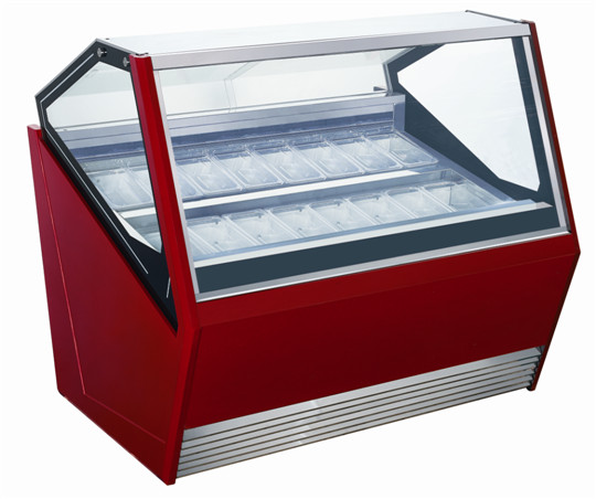 ice cream cabinet stading type