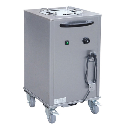 Electric Plate Warmer Cart