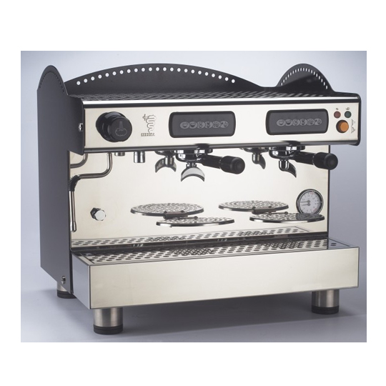 compact design espresso machine   black coffee machine