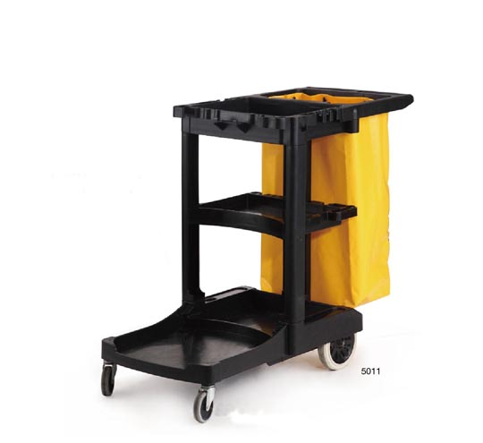 Hotel Guestroom Cleaning Carts