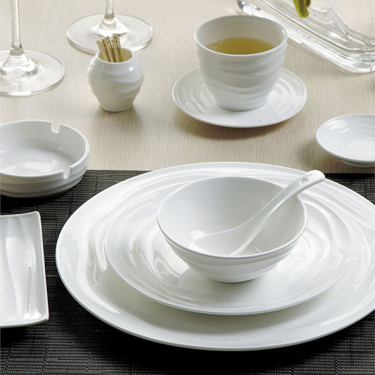 Ceramic porcelain  tableware series refreshing unique design
