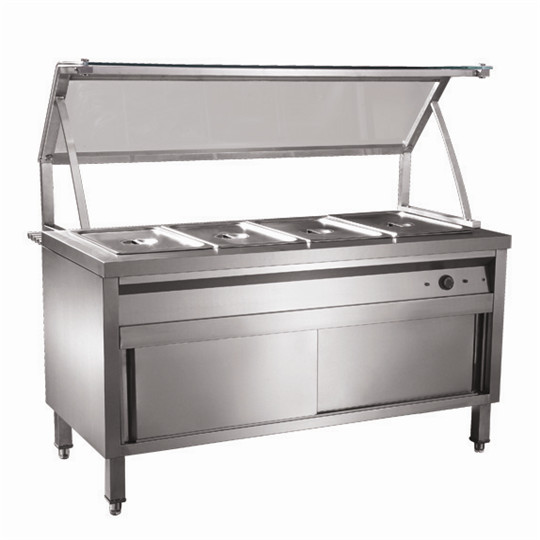Commercial Stainless Steel Food Warmer Bain Marie Restaurant Equipment