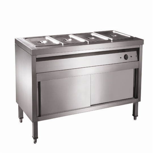 Commercial Stainless Steel Food Warmer Bain Marie