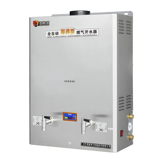 Automatic gas water boiler