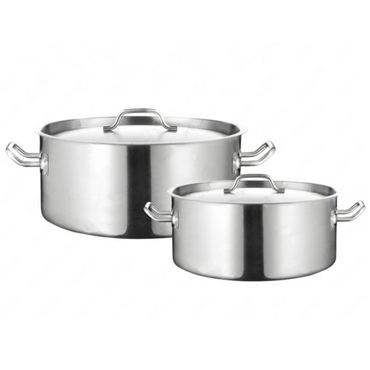 Commercial Stainless Steel soup pot with 3 layers composite bottom