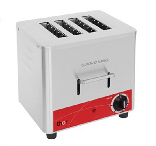 4 and 6 slots Electric Slot Toaster Stainless steel