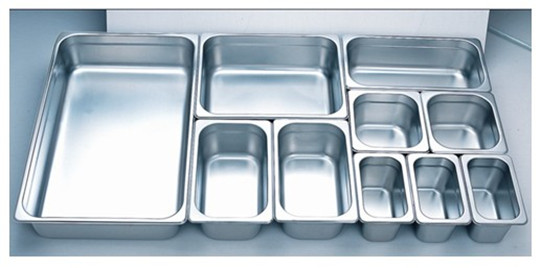 SS Gastronorm Containers  S/S foo Stainless Steel GN Pan