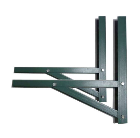 Air Conditioner Galvanized Steel Mounting Bracket
