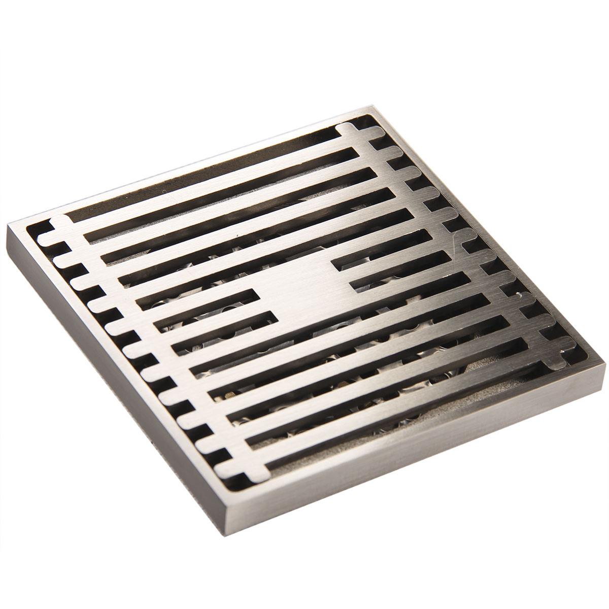Square Stainless steel floor drain