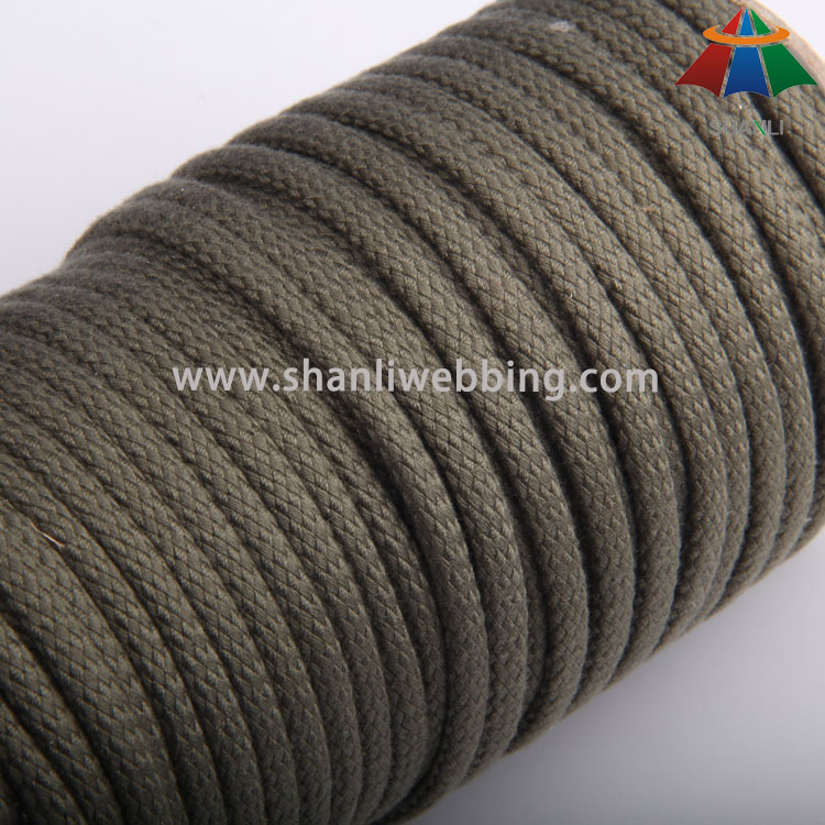 6mm Braided Polyester Cotton Rope